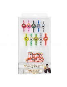 Pack de 11 Velas de Cumpleaños Kawaii - Harry Potter