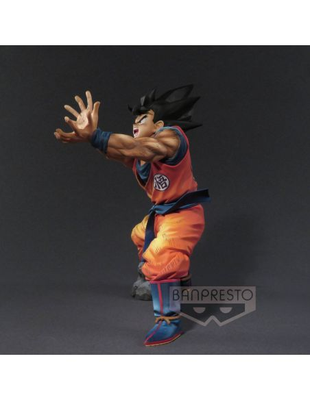 Figura Son Goku ataque Super Kamehame-ha!! 20 cm - Dragon Ball