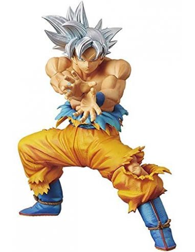 Figura Ultra Instinct Goku 18 cm - Línea DXF The Super Warriors - Dragon Ball