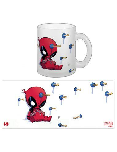 Taza kawaii Deadpool - Marvel