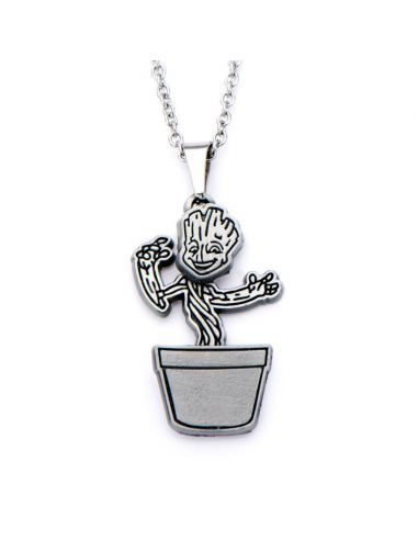 Collar de Acero inoxidable Dancing Baby Groot - Marvel