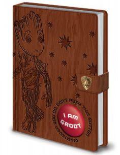 Libreta Premium A5 con sonido - I Am Groot - Marvel