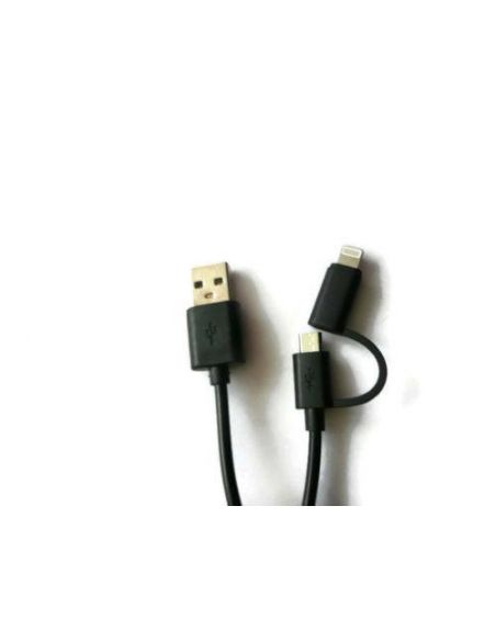 Cable de carga USB 3 en 1 con llavero Hogwarts - Harry Potter