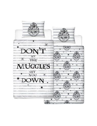 Funda Nórdica Reversible Muggles - Harry Potter