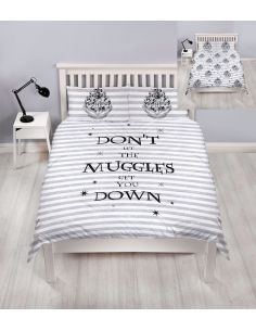 Funda Nórdica Reversible Muggles cama Matrimonio - Harry Potter