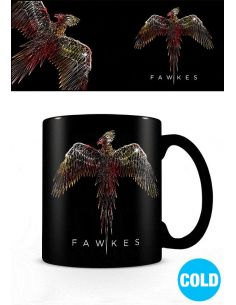 Taza sensitiva al calor Fawkes - Harry Potter