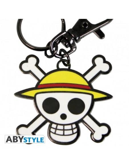 Llavero calavera Luffy - One Piece