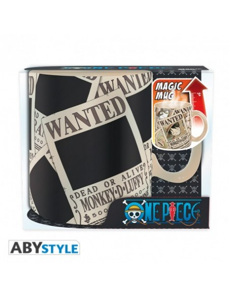 Taza térmica Wanted - One Piece