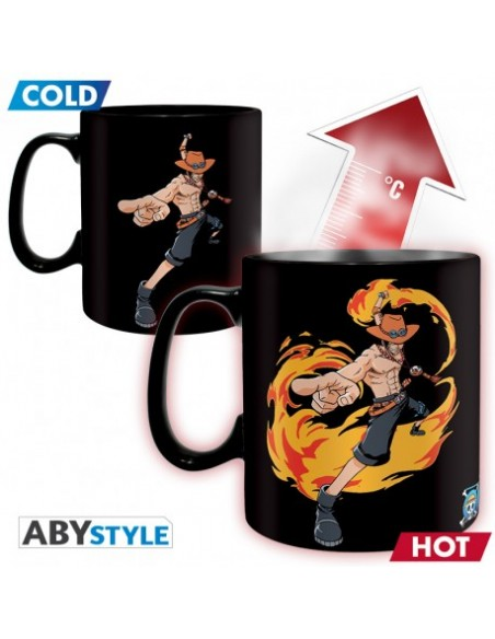 Taza térmica Luffy & Ace - One Piece
