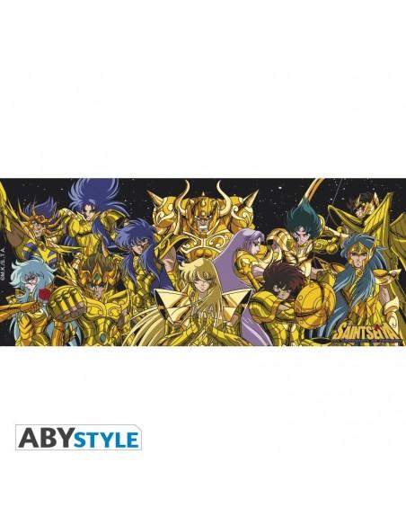 Taza Caballeros de Oro - Los Caballeros del Zodiaco - Saint Seiya
