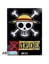 Placa metálica Bandera de Luffy - One Piece