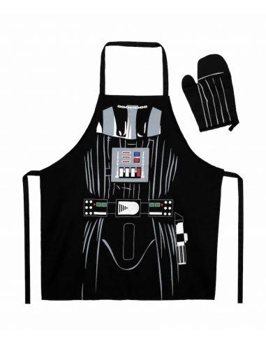 Pack Delantal y Manopla Darth Vader - Star Wars