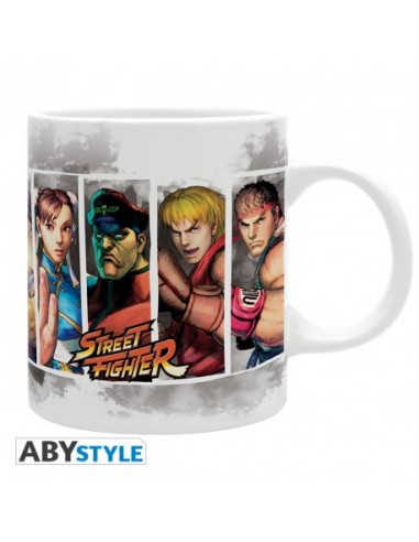 Taza personajes Street Fighter