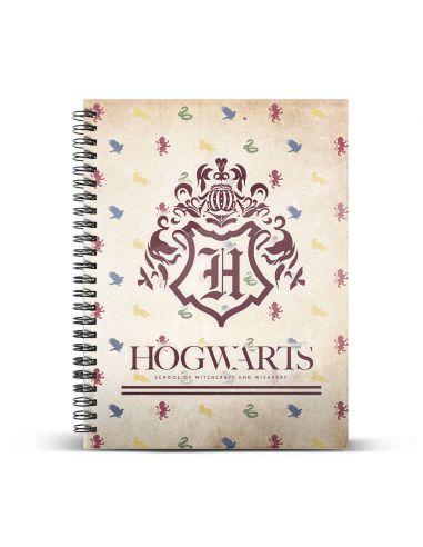 Cuaderno DIN A4 Hogwarts - Harry Potter