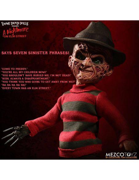 Muñeco con sonido Freddy Krueger 25 cm - Pesadilla en Elm Street