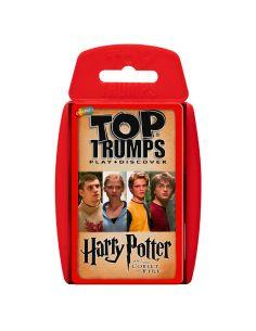 Juego cartas Harry Potter y el Cáliz de Fuego Top Trumps