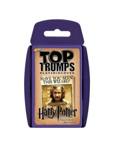 Juego cartas Harry Potter y el Prisionero de Azkaban Top Trumps