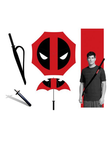 Paraguas Katana Deadpool - Marvel