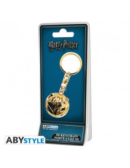 Llavero 3D Snitch Dorada - Harry Potter