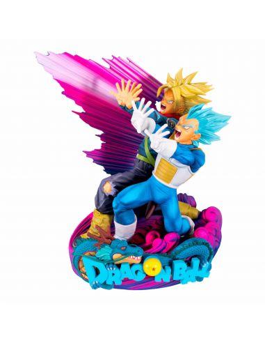 Figura de Vegeta y Trunks 18 cm -  Super Master Star Diorama - Dragon Ball