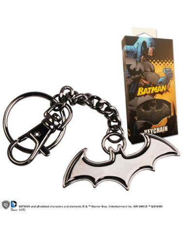 Llavero símbolo Batman negro - DC Comics
