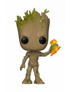 FUNKO POP! Groot con Stormbreaker 416 - Guardianes de la Galaxia - Marvel
