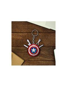 Llavero multiusos Escudo Capitán América - Marvel