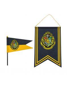Banderín y estandarte Hogwarts- Harry Potter
