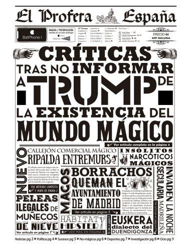 Periódico el Profeta - 2ª Edición España - Harry Potter