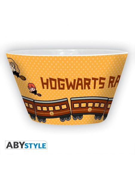 Tazón de desayuno Kawaii Hogwarts Express - Harry Potter