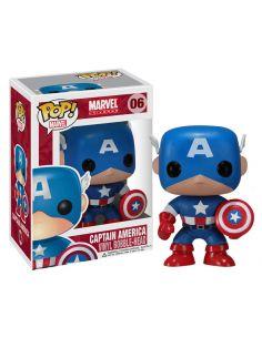 FUNKO POP! Capitán América con Escudo 06 - Marvel