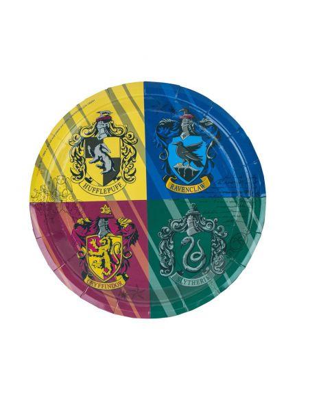 Pack de cumpleaños casas Hogwarts - Harry Potter