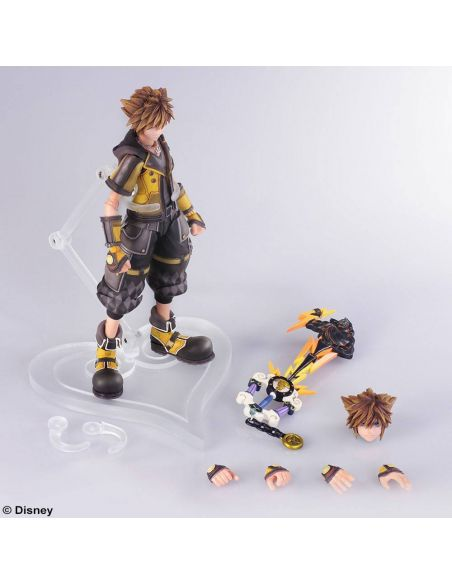 Figura Sora Guardian 16 cm - Kingdom Hearts III