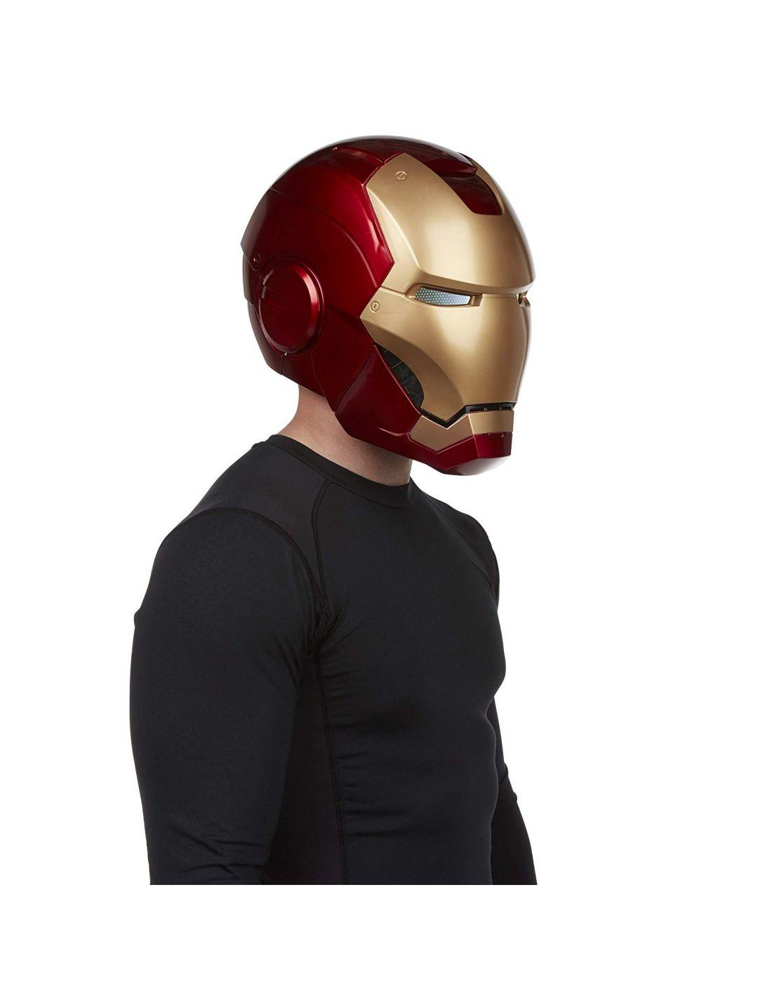 The Avengers Marvel Legends Iron Man Casco electrónico en