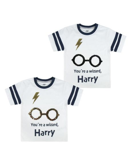 Camiseta manga corta Infantil - Harry Potter