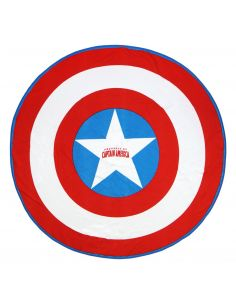 Toalla redonda Capitán América - Marvel