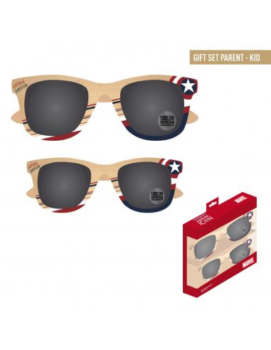 Pack familiar Gafas de Sol Capitán América - Marvel