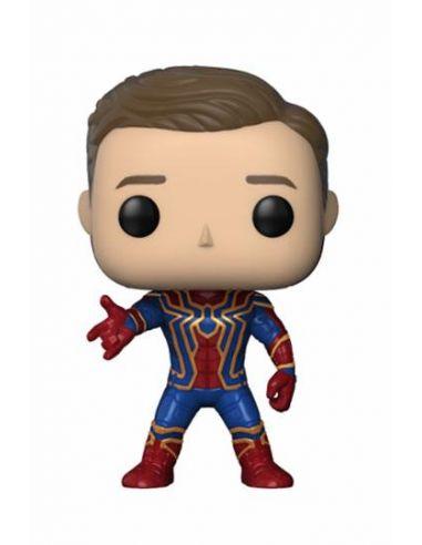 FUNKO POP! Iron Spider Unmasked BoxLunch Exclusive 305 - Marvel