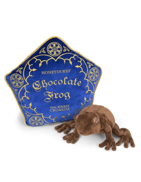 Cojín + Peluche Rana de Chocolate - Harry Potter