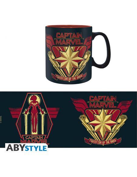 Taza Capitana Marvel 460 ml - Marvel