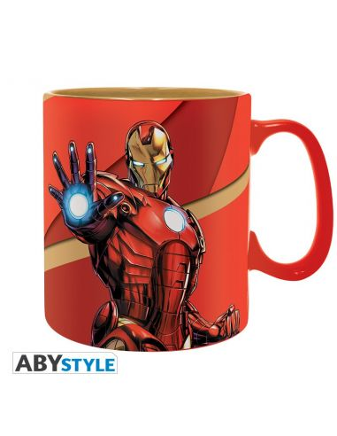 Taza Iron Man 460 ml - Marvel