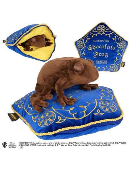 Cojín y Peluche Rana de Chocolate - Harry Potter