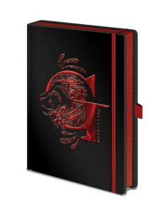 Libreta Black A5 Gryffindor - Harry Potter