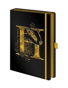 Libreta Black A5 Hufflepuff - Harry Potter