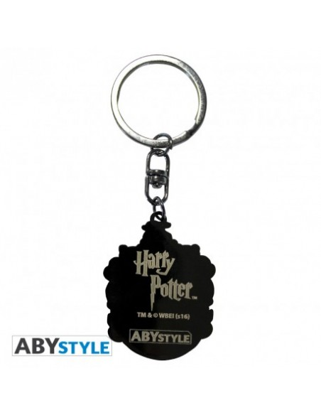 Llavero escudo Hufflepuff - Harry Potter