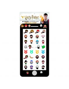 40 Stickers Kawaii - Harry Potter