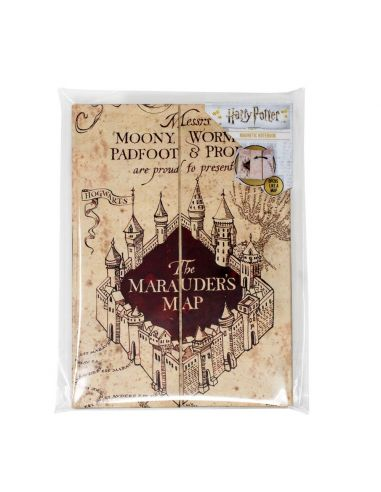 Libreta Mapa Del Merodeador Harry Potter