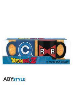 Pack 2 tazas expreso Dragon Ball B - Dragon Ball