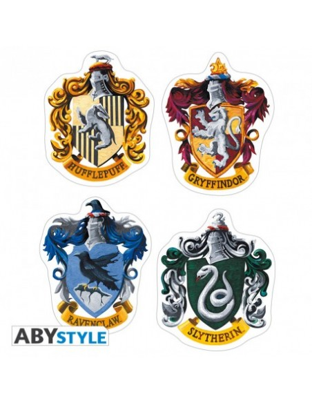 Pegatinas escudos - Harry Potter
