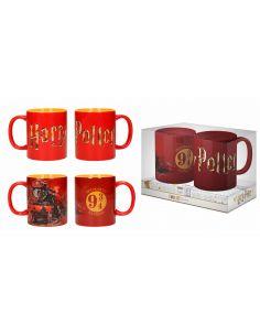 Pack 2 Tazas Hogwarts Express - Harry Potter